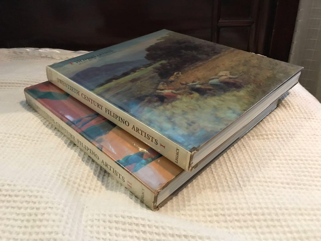 Twentieth Century Filipino Artists vol. 1 & 2 by Manuel Duldulao