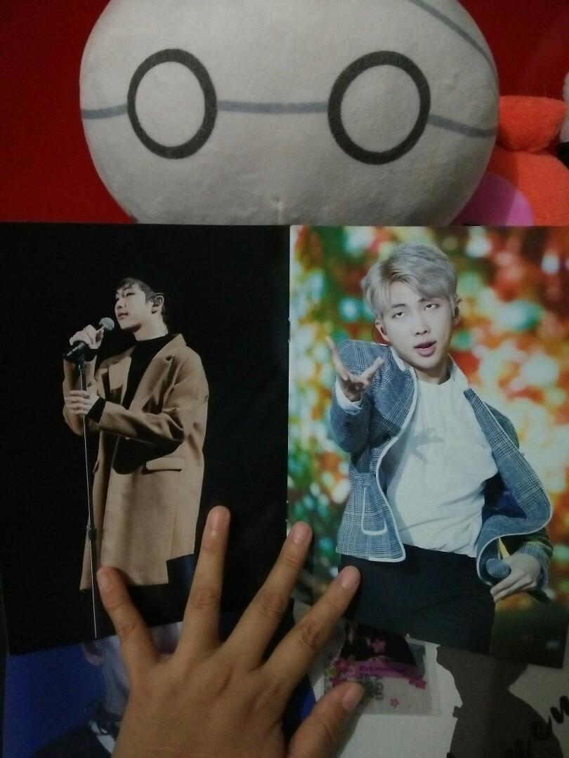 [WTS] BTS RM Fansite Merchs by Stand By RM/Just For RM