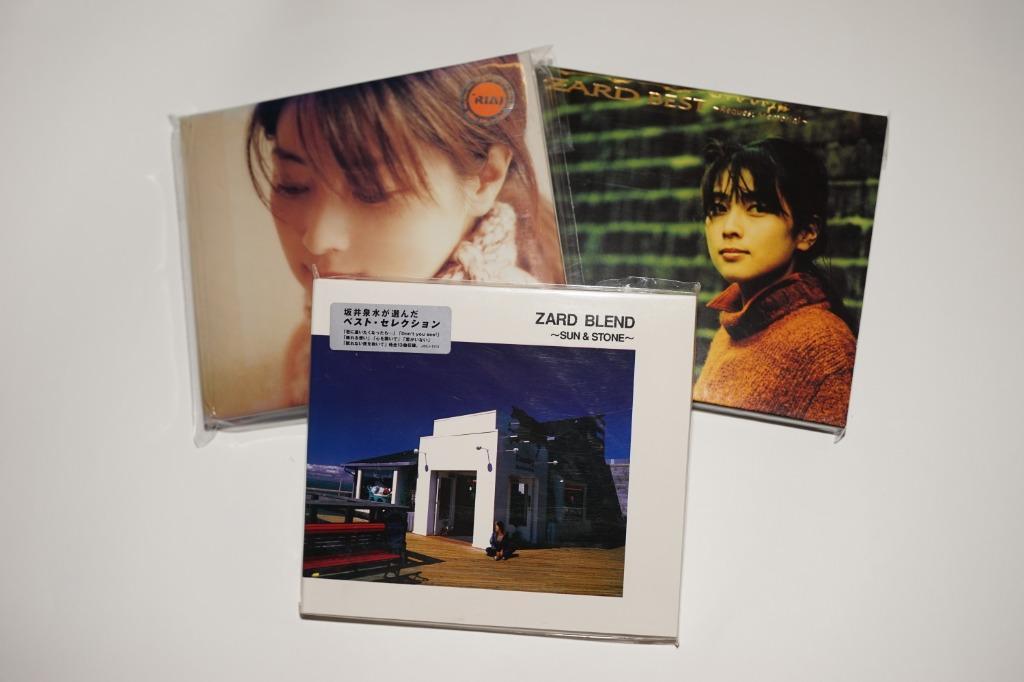 Zard 坂井泉水 CD x3