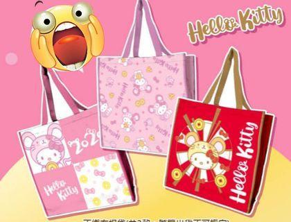 2020年7-ELEVEN福袋Hello Kitty購物袋