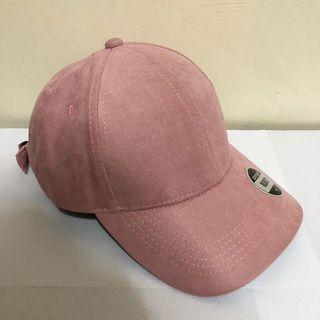 Penshoppe Pink Suede Cap