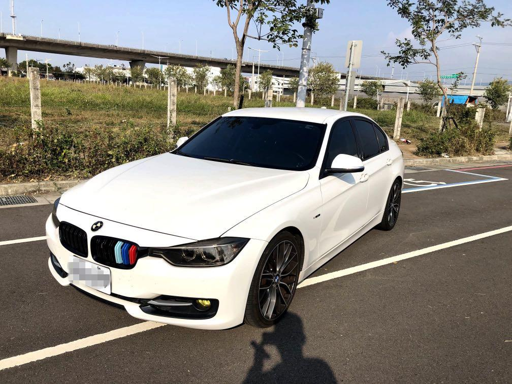 2013年式 BMW f30 320 sport line總代理