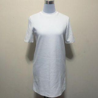 Forever 21 White Shirt Dress