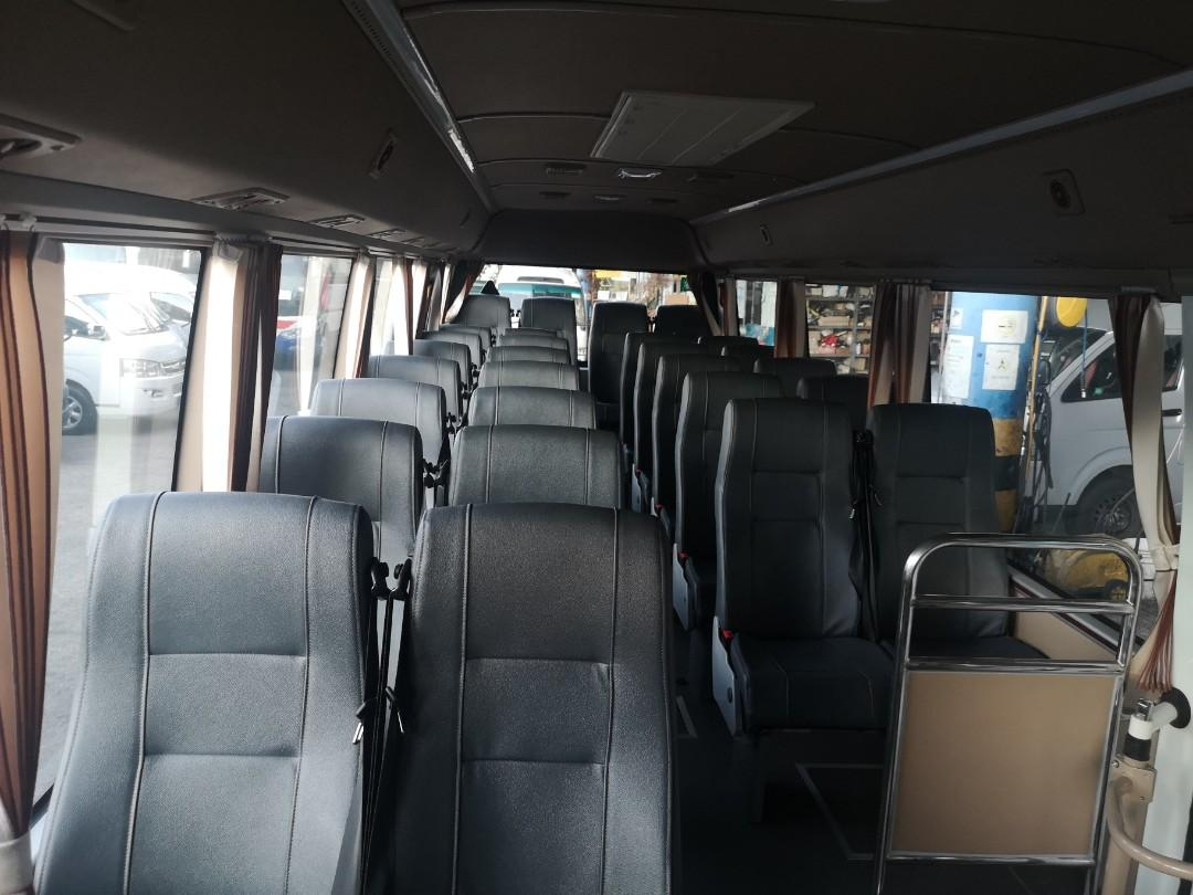 29 seater auto bus for lease