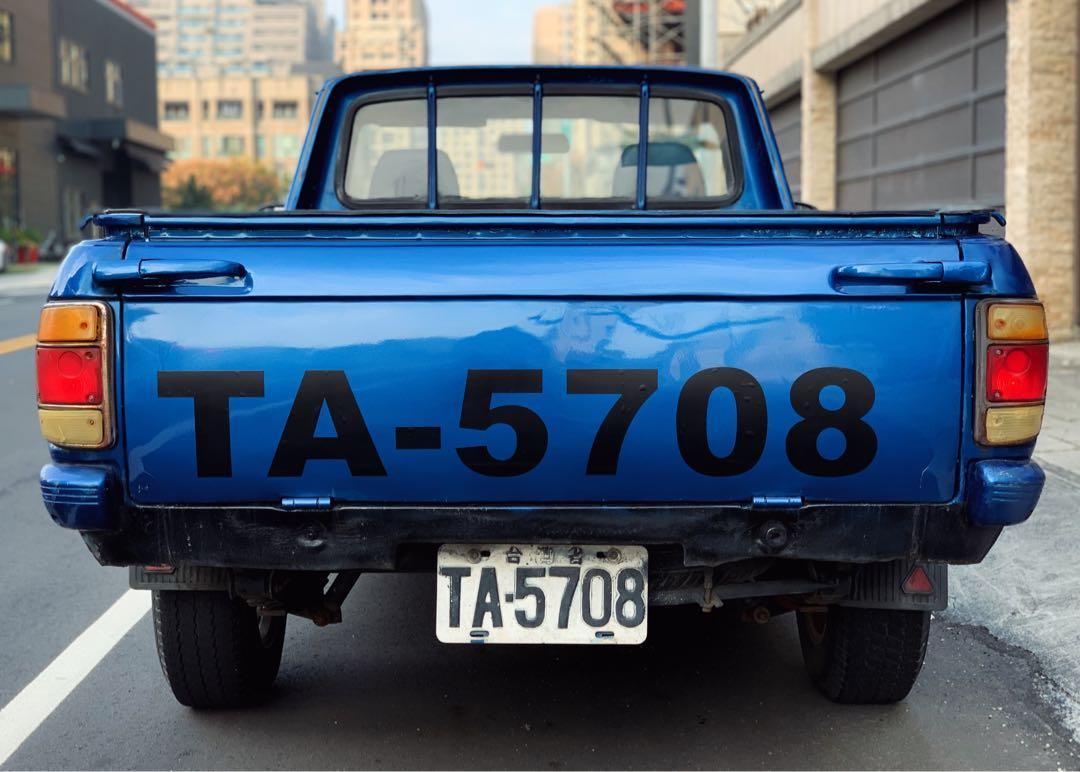 裕隆 1987 303T 復古 貨車 貨卡