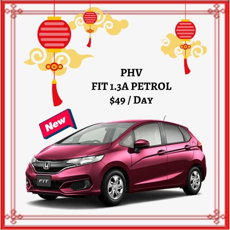 [ Brand New ] HONDA FIT 1.3A PETROL * Lease To Own *