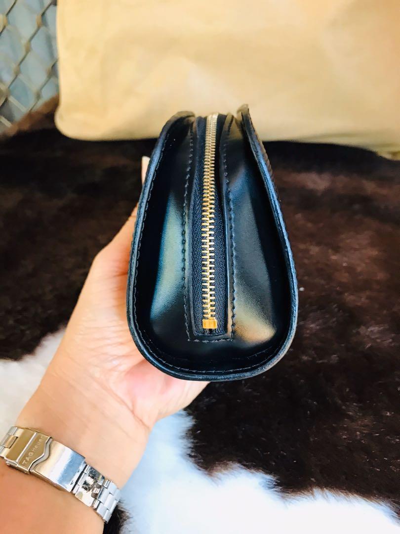 Authentic Vintage Louis Vuitton Dauphine Epi Leather Accessorise pouch