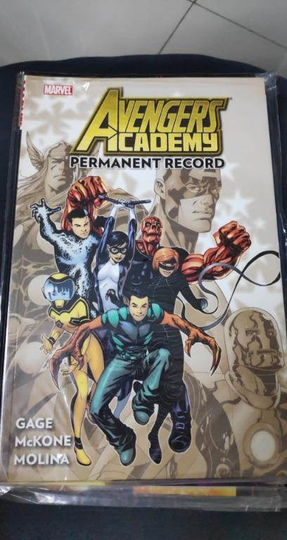 Avengers Academy TPB (2011-2012 Marvel) By Christos Gage #1-1ST
