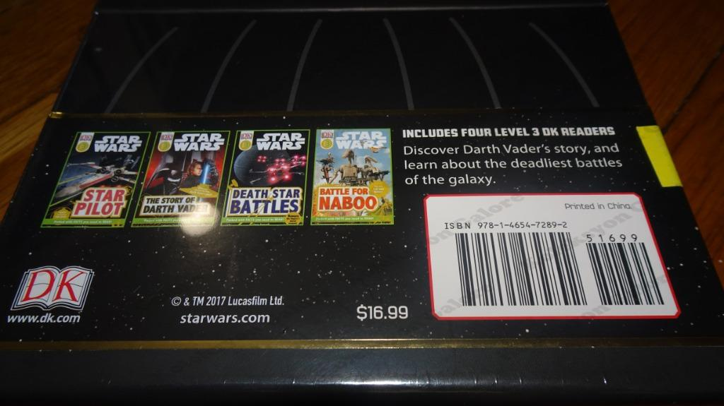 B3 # 99 Brand New Learn To Read With Star Wars: Darth Vader Level 3