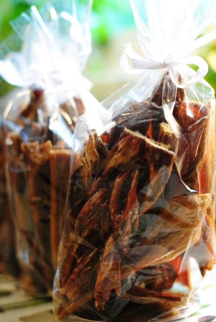 Beef bully bags and sticks for dogs that love to chew