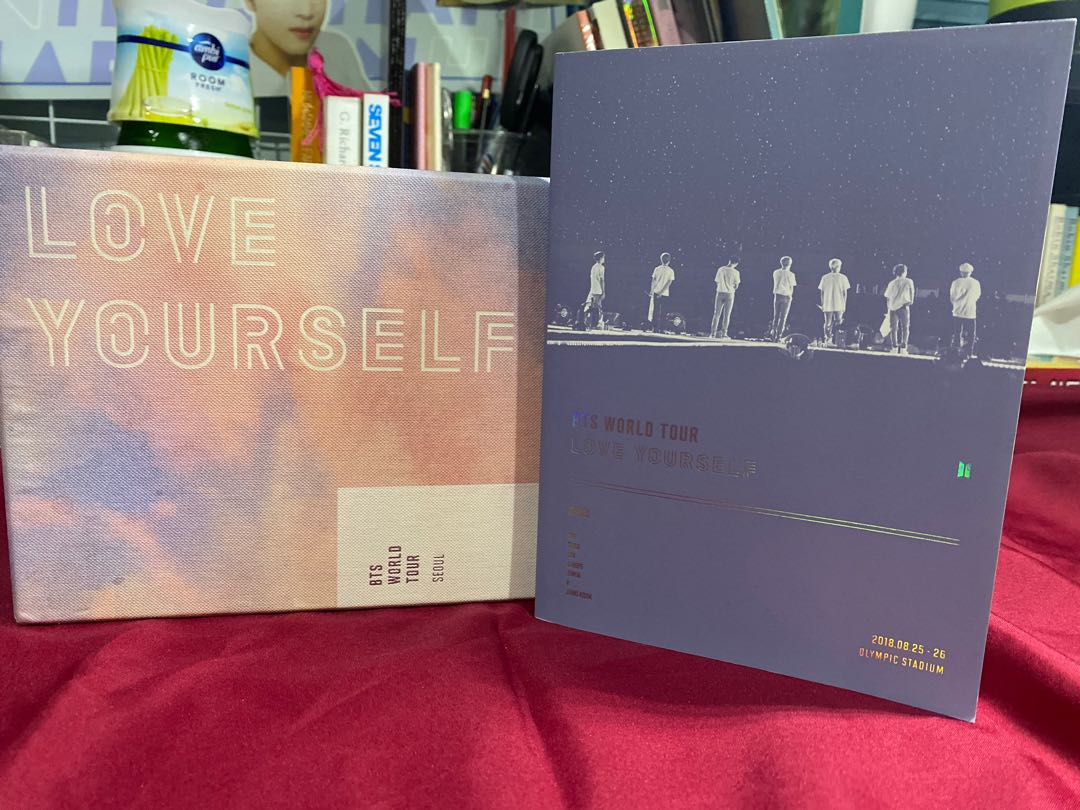 BTS LOVE YOURSELF TOUR IN SEOUL (photobook & outbox only)