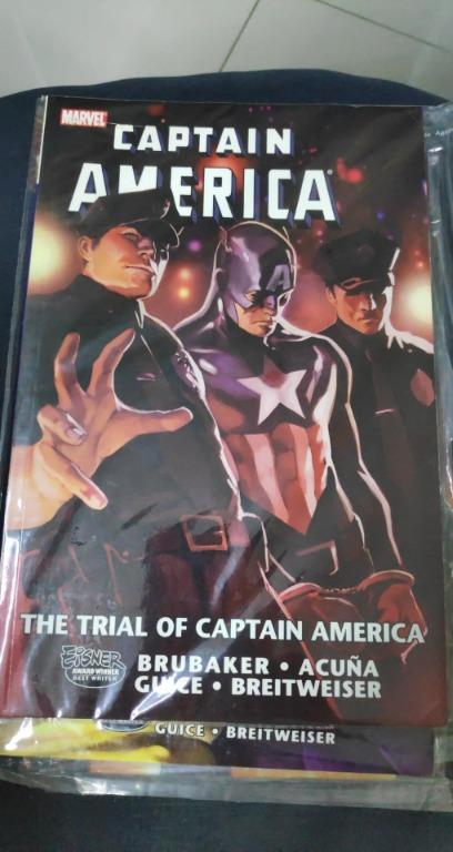 Captain America The Trial of Captain America TPB (2011 Marvel) #1-1ST