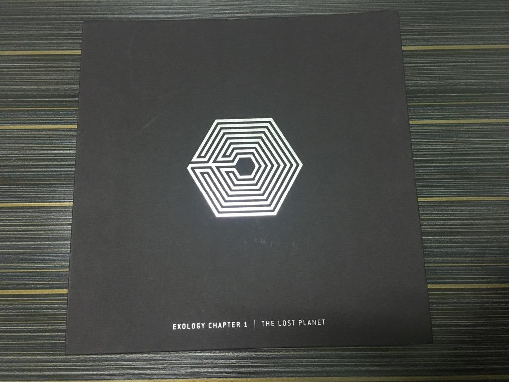 EXO EXOLOGY CHAPTER 1 THE LOST PLANET (RARE, LIMITED EDITION)