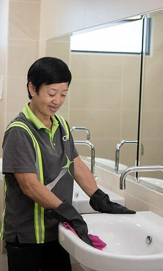 General cleaners for office in the  WEST