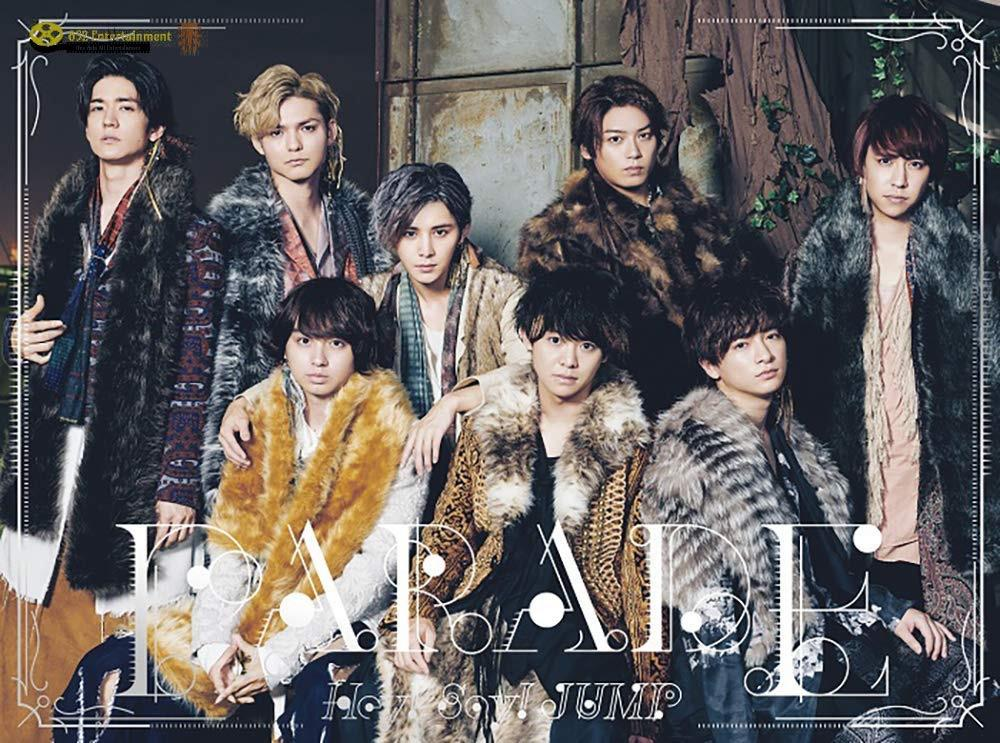 HEY! SAY! JUMP Parade 初回限定版2 (TW) CD+DVD (3區) 2019 (包郵)