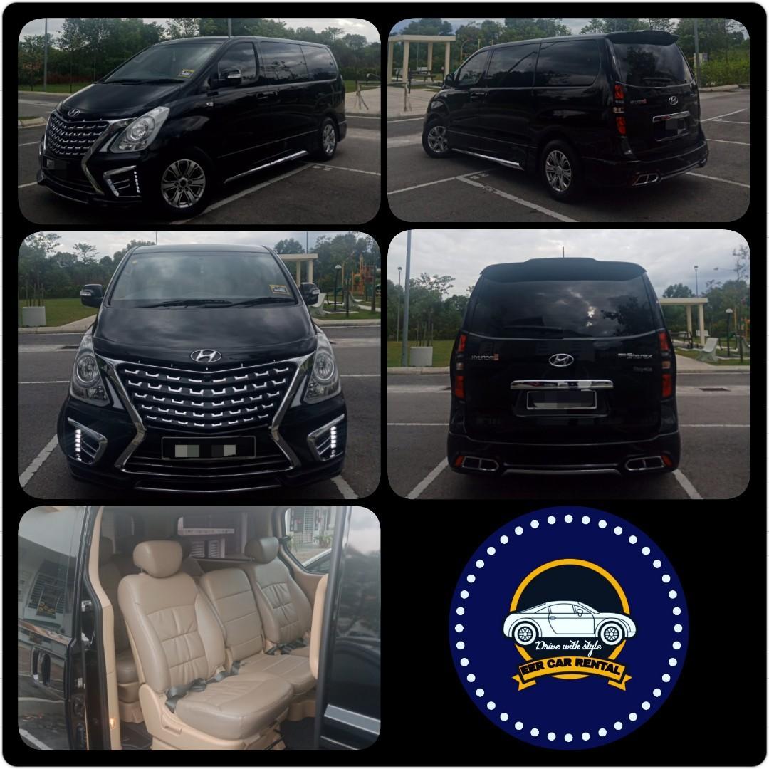 Hyundai Starex Robot 2.5(A) Kereta Sewa Selangor KL