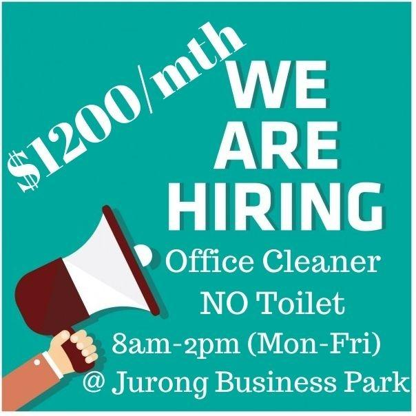 Jurong Business Park Office Cleaning