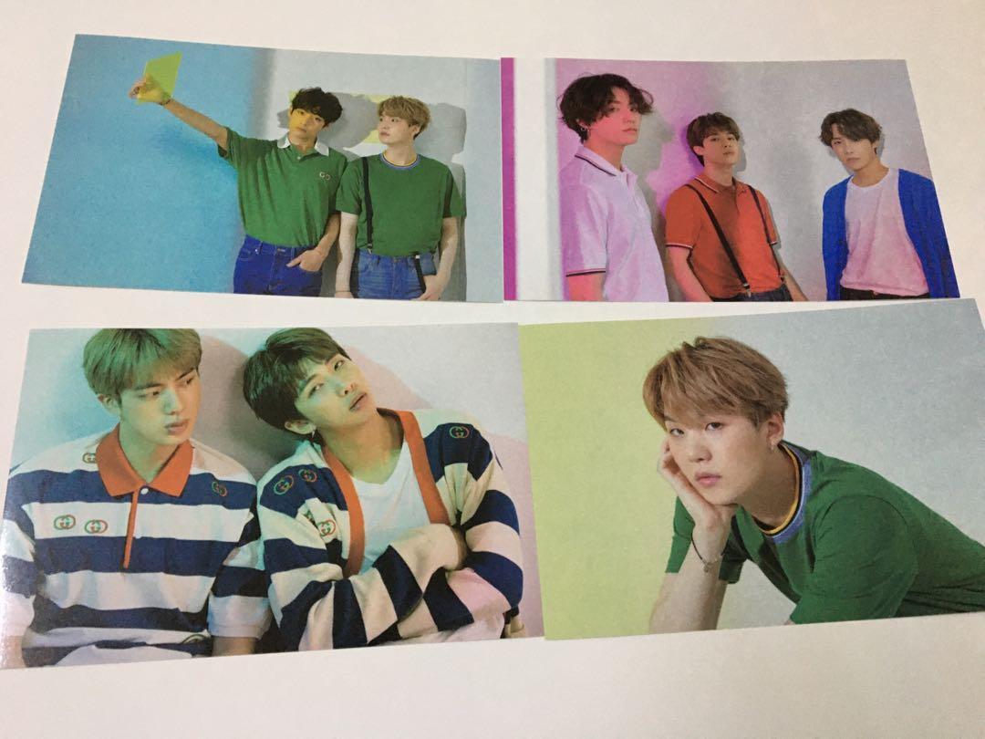 [LOOSE] BTS 2020 Season's Greetings Mini Poster Set