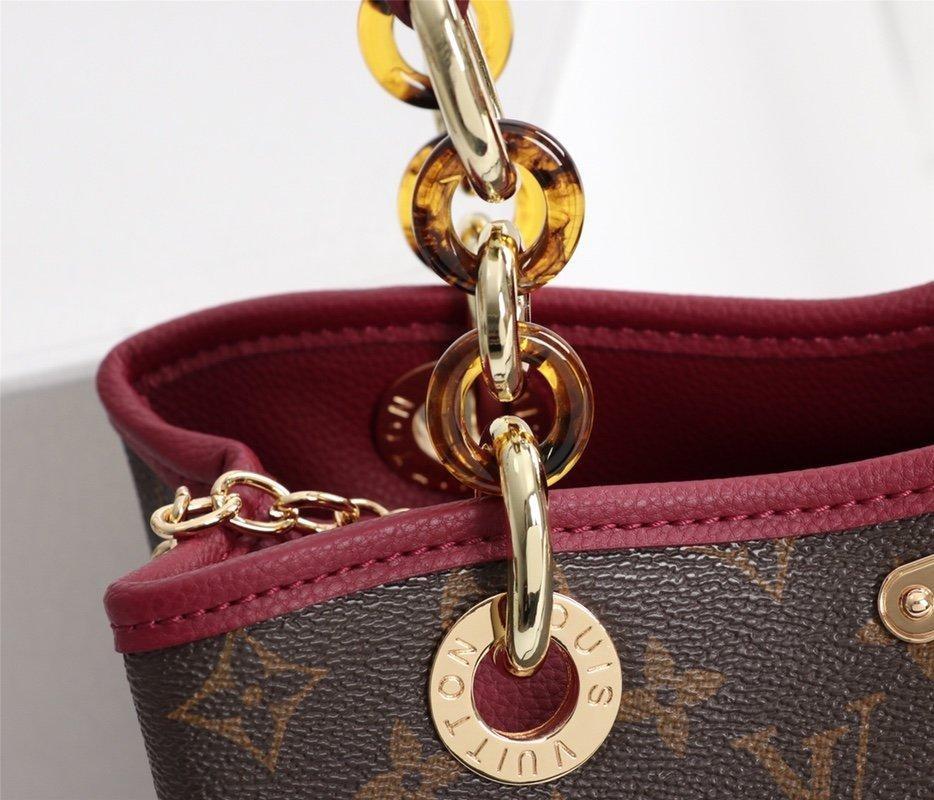 LV2019 new women's bag, fashion print bag, medium lady shoulder bag, Louis handbag,Spot, fast delivery, free shipping