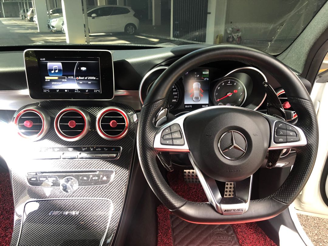 Mercedes Benz C63S (Converted from C350e with Great Spec!) [NEGO!]