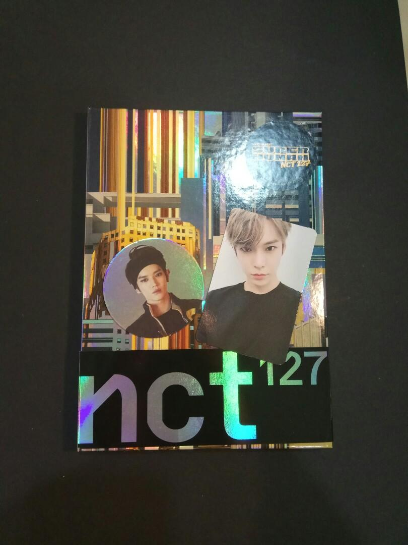 NCT 127 We are superhuman album Doyoung pc Taeyong cc
