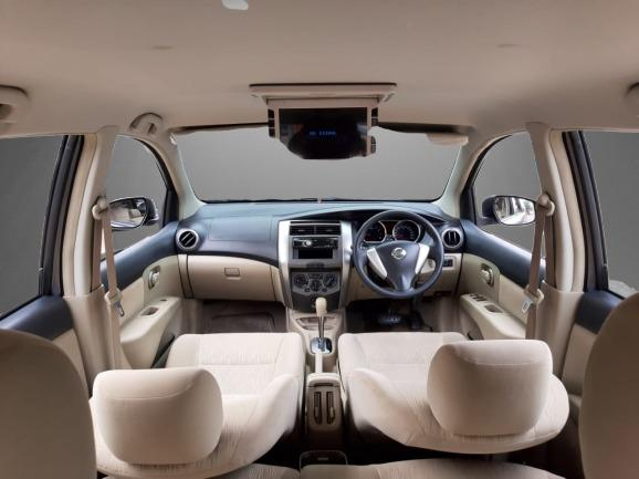 Nissan New Grand Livina 1.5 XV AT 2013 Abu Abu Dp 19,9 Jt No Pol Ganjil