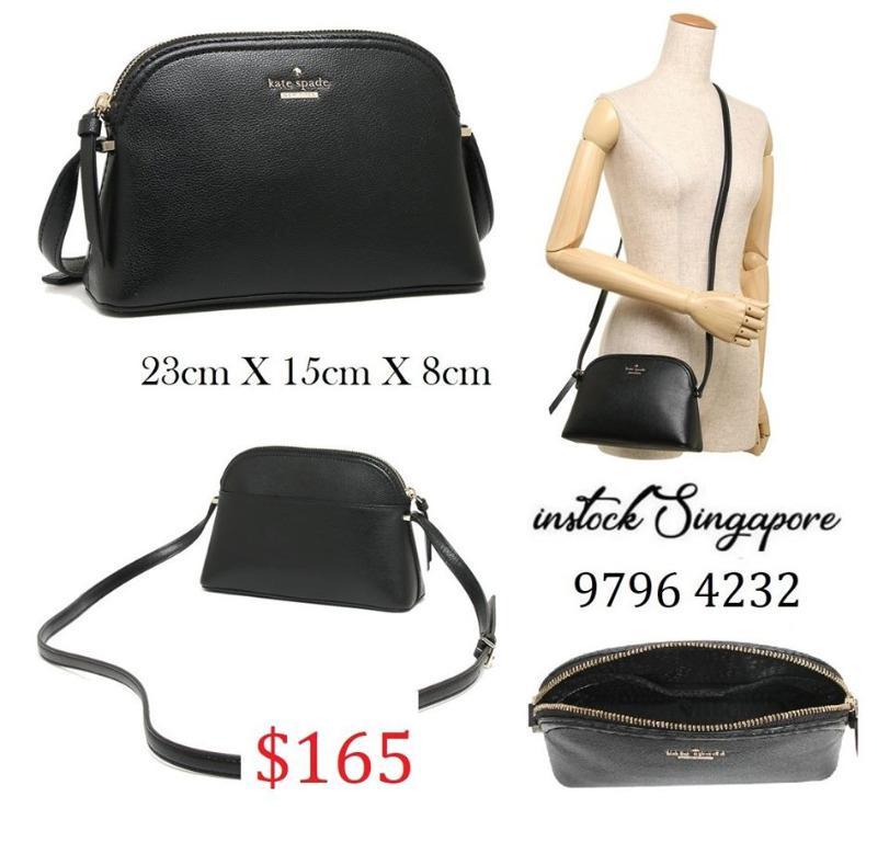 READY STOCK - AUTHENTIC - NEW $165 Kate Spade (WKRU5662) Patterson Drive Peggy Small Crossbody Handbag