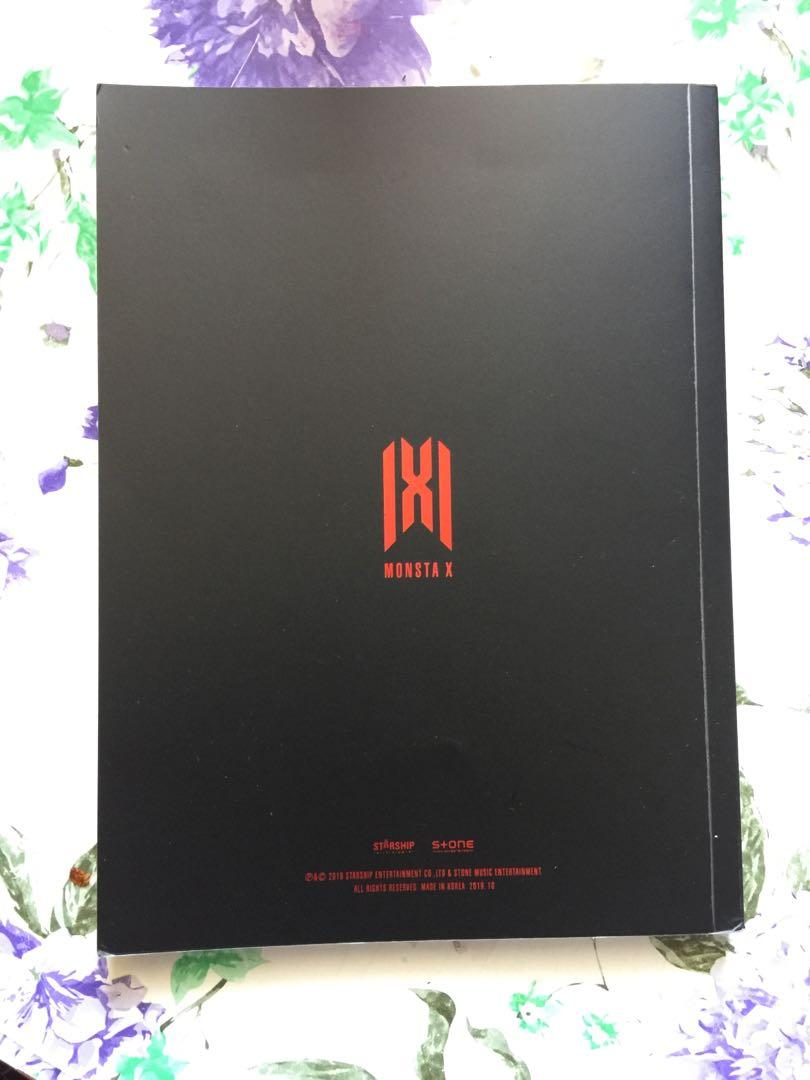 [READY STOCK] MONSTA X WE ARE HERE IN SEOUL PHOTOBOOK