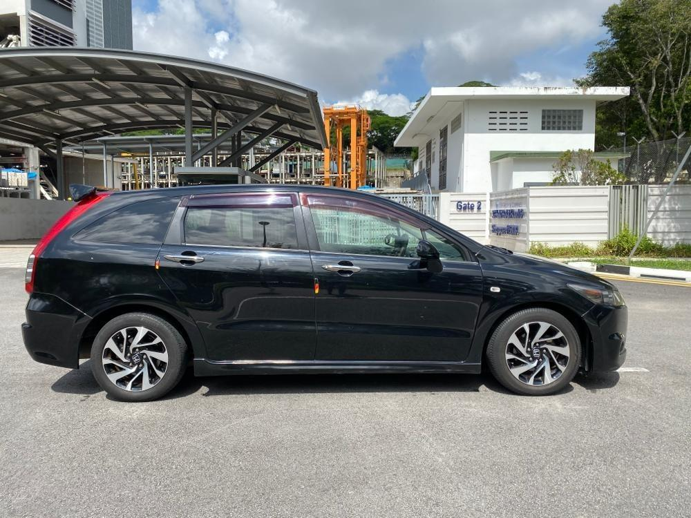 [RENT] HONDA STREAM RSZ SPORTY BLACK COLOUR FOR CAR RENTAL