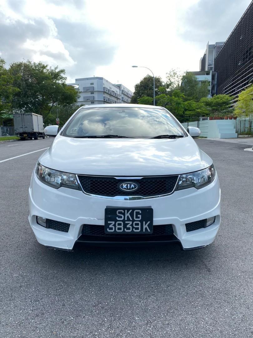[RENT] KIA FORTE WHITE COLOUR BODYKIT FOR CAR RENTAL GRAB
