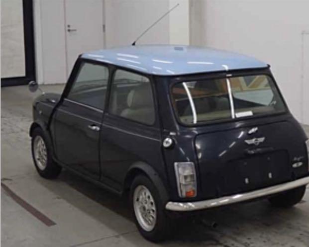 Rover Mini Copper black Manual