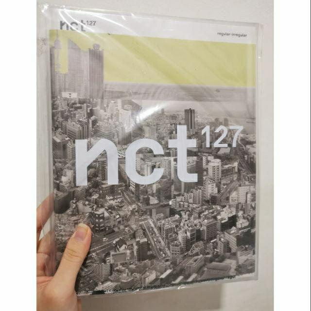 SEALED NCT 127 First Album Vol 1 - NCT 127 Regular-Irregular CD