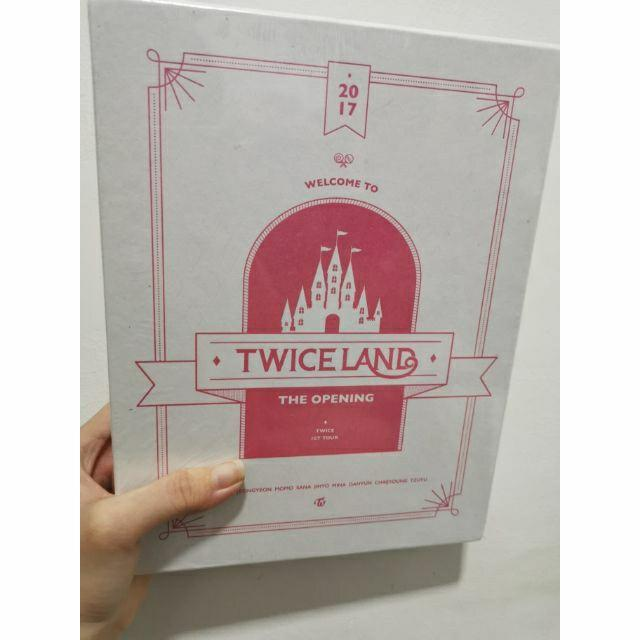 SEALED TWICE - TWICELAND : THE OPENING CONCERT DVD (3 DISC)