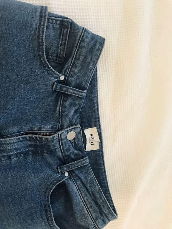 Seed Heritage - Wide Leg Jeans Size 10  - FREE POSTAGE