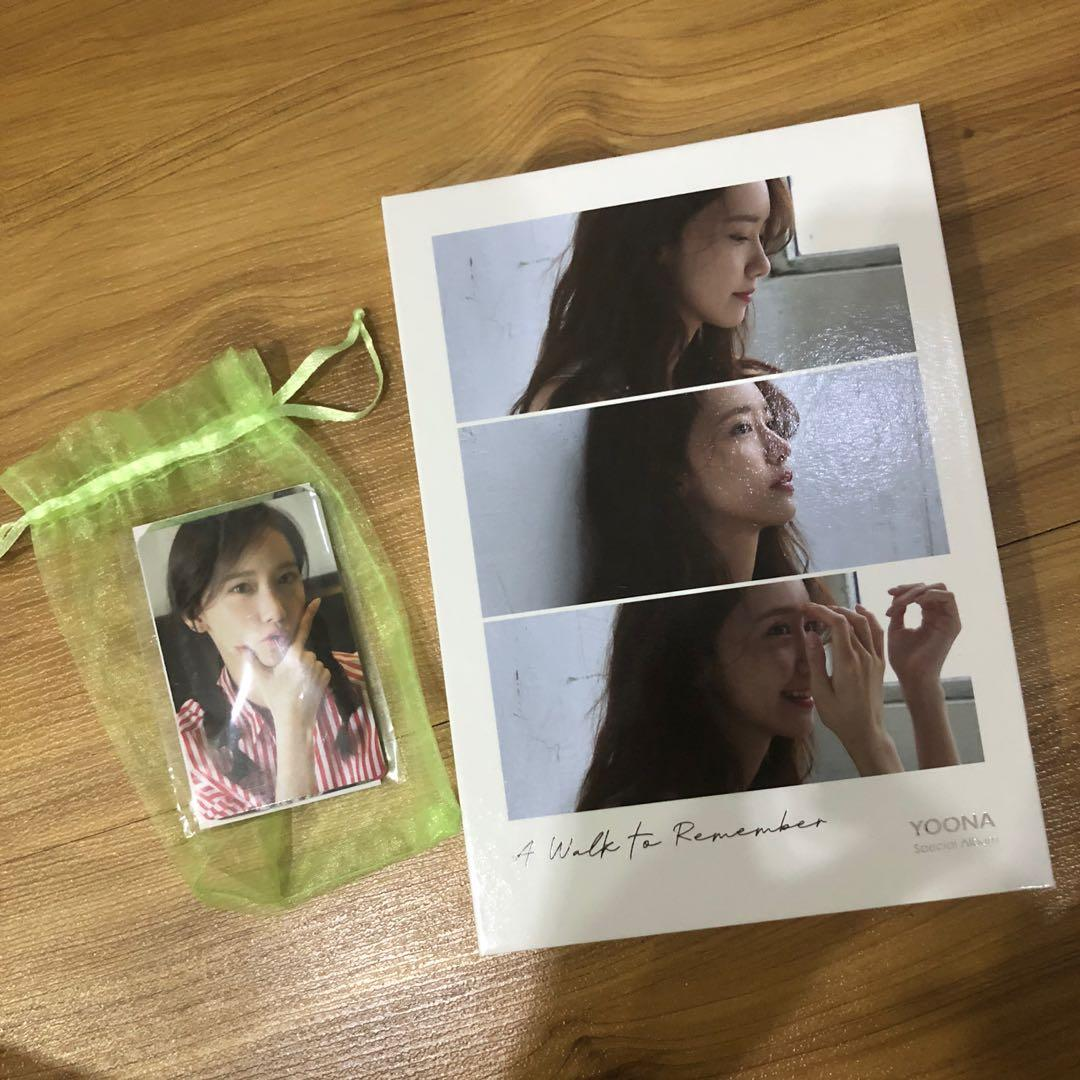 SNSD/GIRLS' GENERATION YOONA A WALK TO REMEMBER SOLO ALBUM