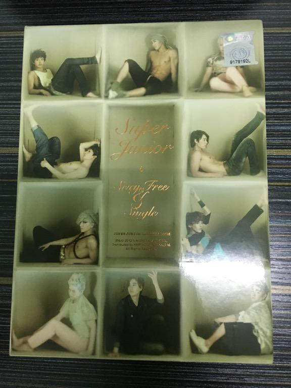 Super Junior 6th Album Sexy, Free & Single Version