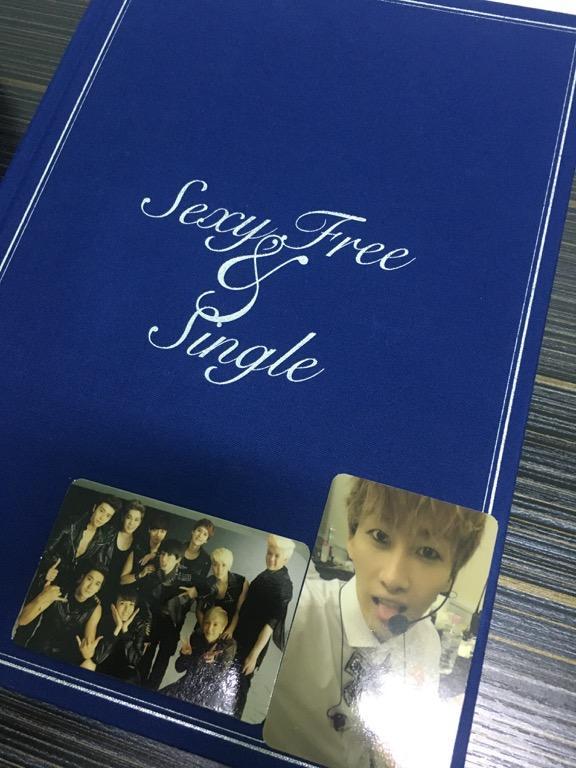 Super Junior 6th Album Sexy, Free & Single Version A