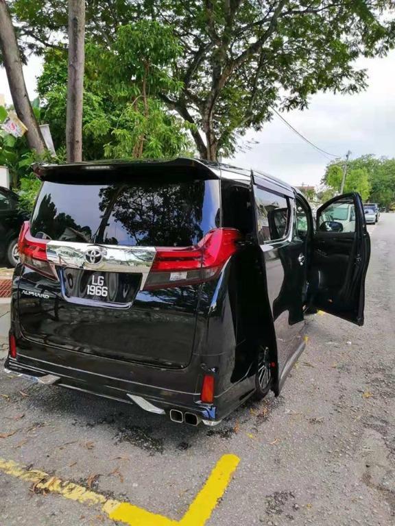 Toyota Alphard/Vellfire 2.5 for rental (kereta sewa)