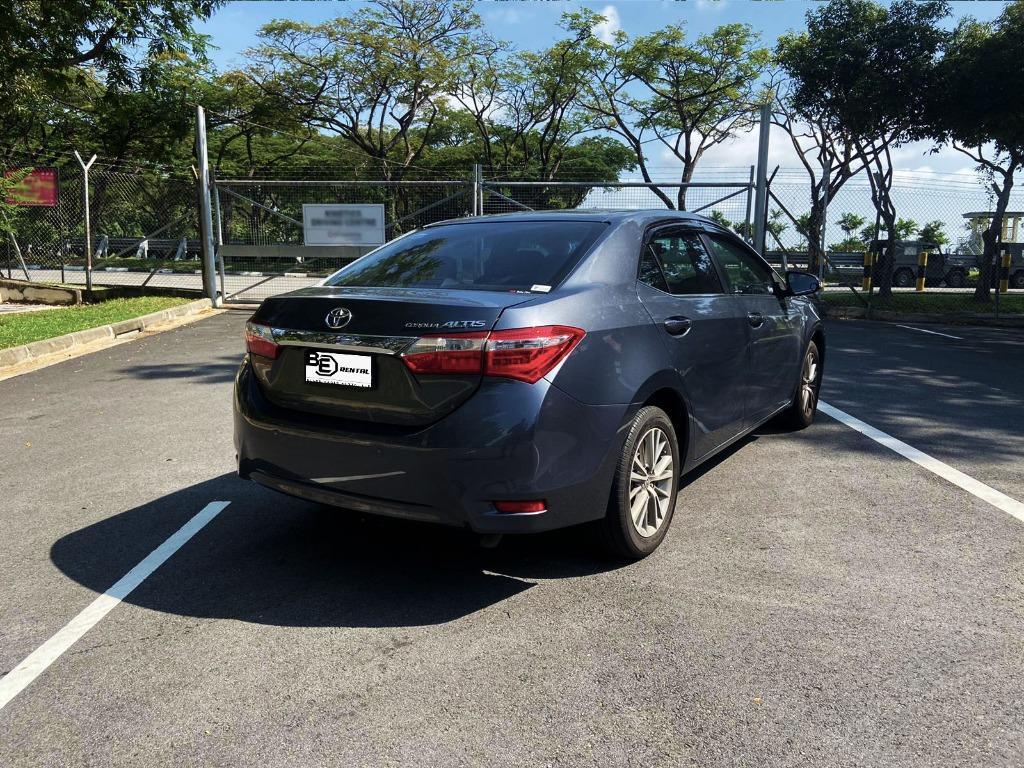 Toyota Altis(2015) Daily/Grab/Gojek Rental