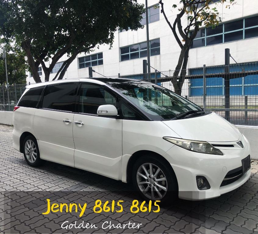 $70 TOYOTA ESTIMA*SUNROOOF*7seater mpv cheaper lower rental.honda airware mitsubishi grandis