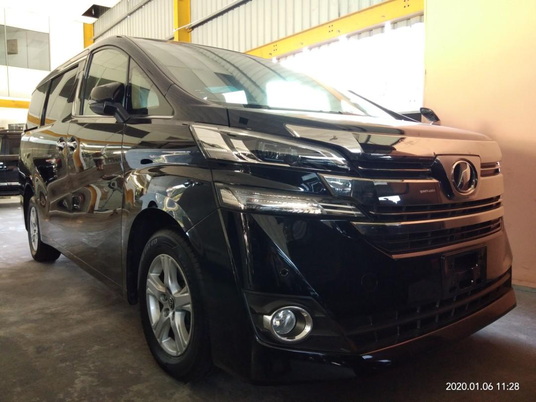 TOYOTA VELLFIRE X 2.5 8seat  Year:2017✔From:Japan🇯🇵✔ ON THE ROAD PRICE RM189,888.88 📱0⃣1⃣2⃣2⃣3⃣6⃣7⃣2⃣7⃣2⃣☺🙏