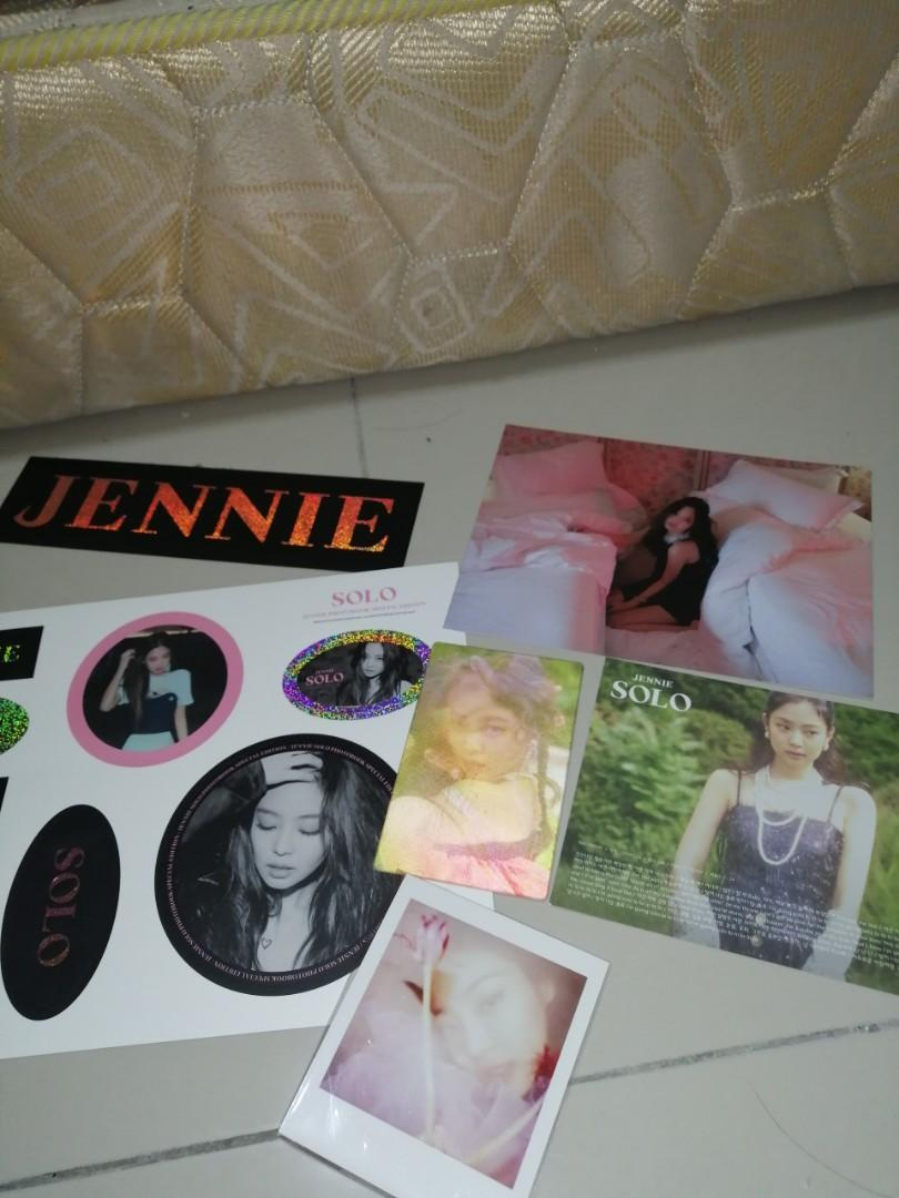 [WTS BLACKPINK]JENNIE SOLO ALBUM / SPECIAL EDITION OFFICIAL PHOTOCARD/POSTCARD/NAMETAP/POSTER/LIYCIS CARD