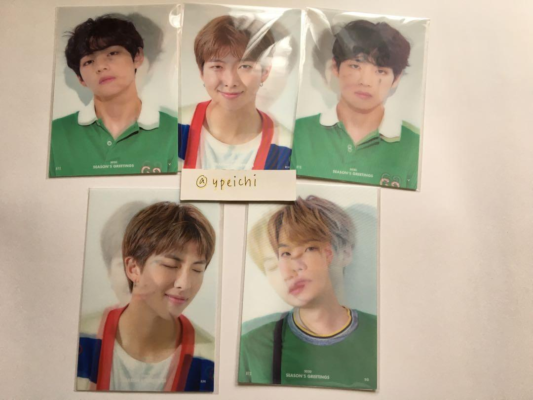 [WTS] BTS 2020 Season's Greetings Official Photo Lenticular