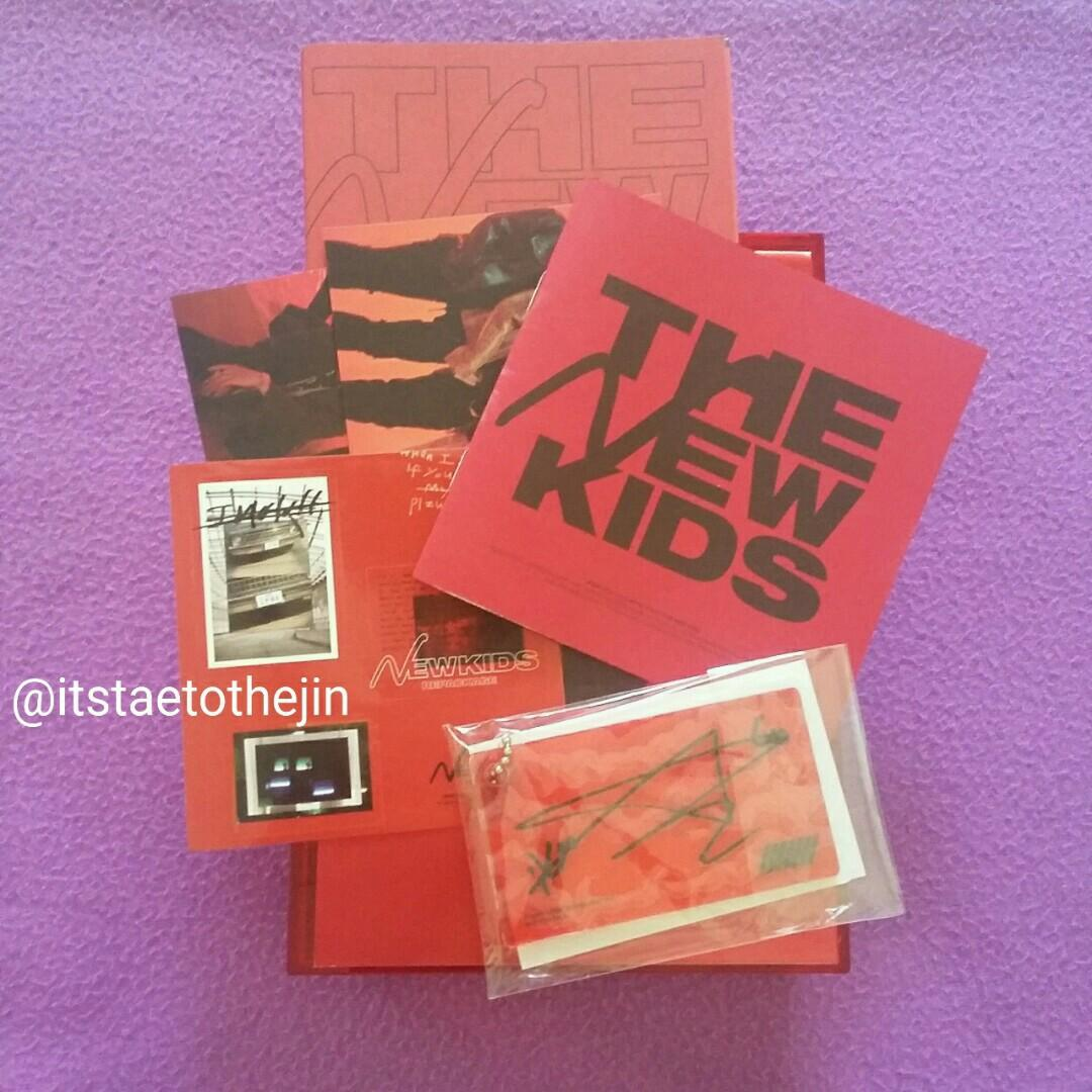 WTS IKON The New Kids Repackage (Black and red version)