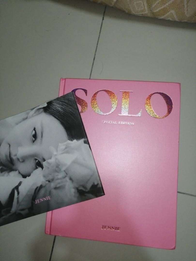 [WTS]BLACKPINK JENNIE SOLO OFFICIAL SPECIAL EDITION PHOTOBOOK