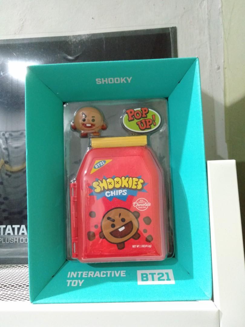 (WTS/LFB) Official BTS BT21 'SHOOKY' Interactive Toy Figure