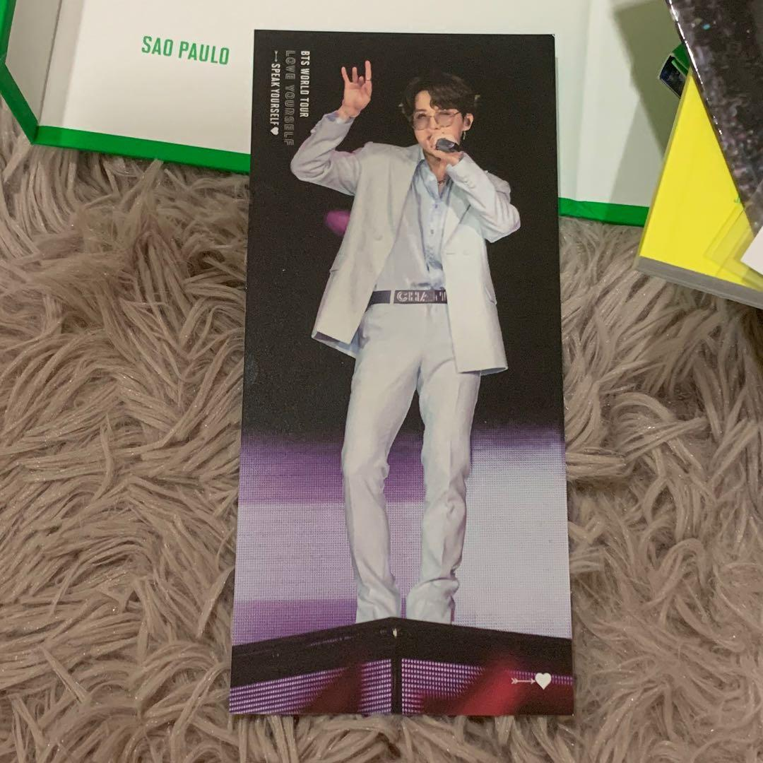 [WTT]BTS  LOVE YOURSELF SPEAK YOURSELF SAO PAULO BOOKMARK JHOPE