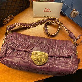 Prada Purple Purse