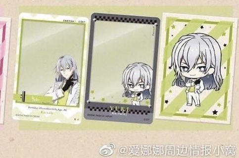 Idolish7 yuki window card