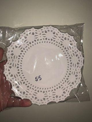 Lace doilies paper